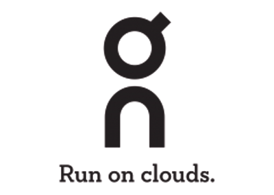 On - Run on clouds Logo